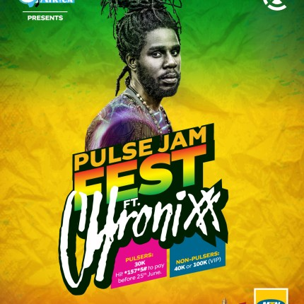 Chronixx Jetting into town for the first edition of Pulse Jam Fest