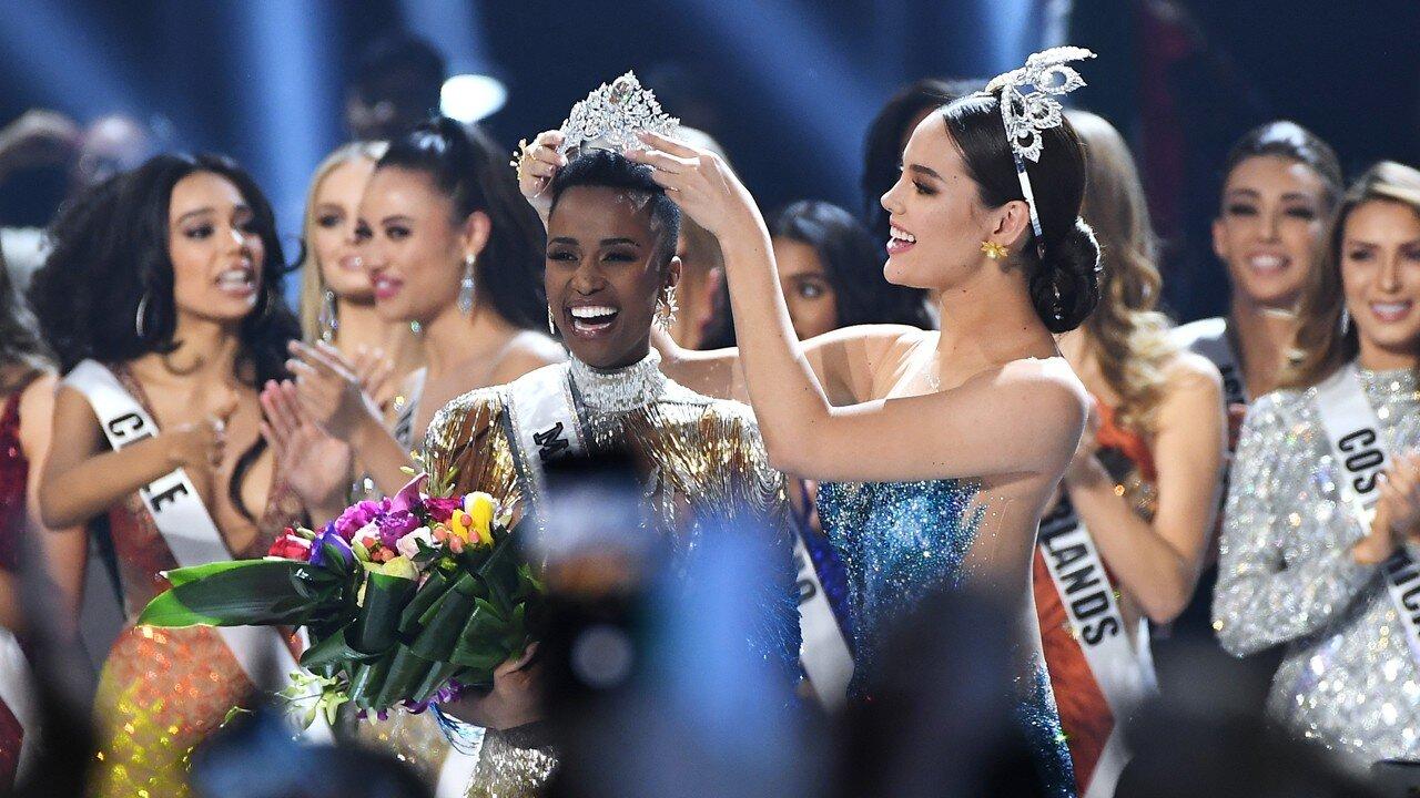 Miss South African Zozibini Tunzi Crowned Miss Universe 2019
