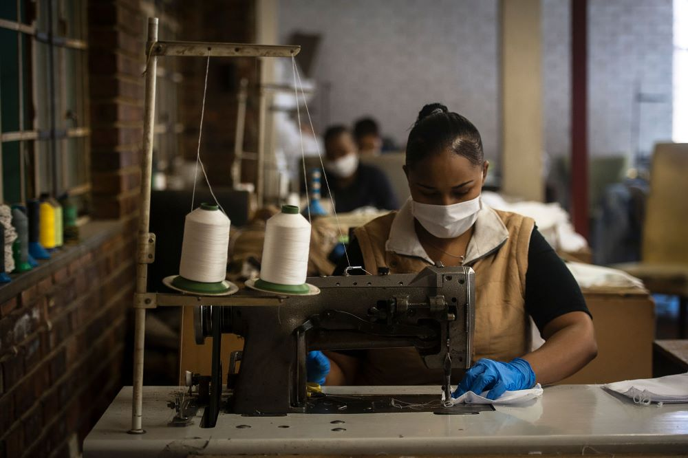 South Africa Government guarantees 80,000 garment & textile workers full pay for six weeks during COVID-19 lockdown