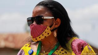 Economic necessity For many fashion designers in Africa, creating protective gear such as mask has been a way to keep business going despite the economic downturn.