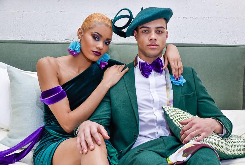 Jamaican-born acclaimed fashion designer returns to Ghana