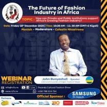 John Bunyeshuli Speaker CEO and Founder Of Kigali Fashion Week