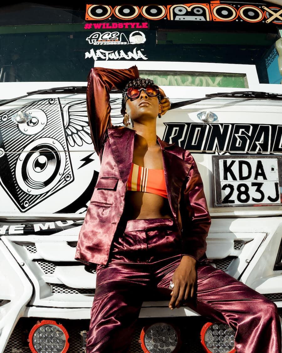 Kenyan Designers and Film Looku Debut at London Fashion Week Virtual Premiere