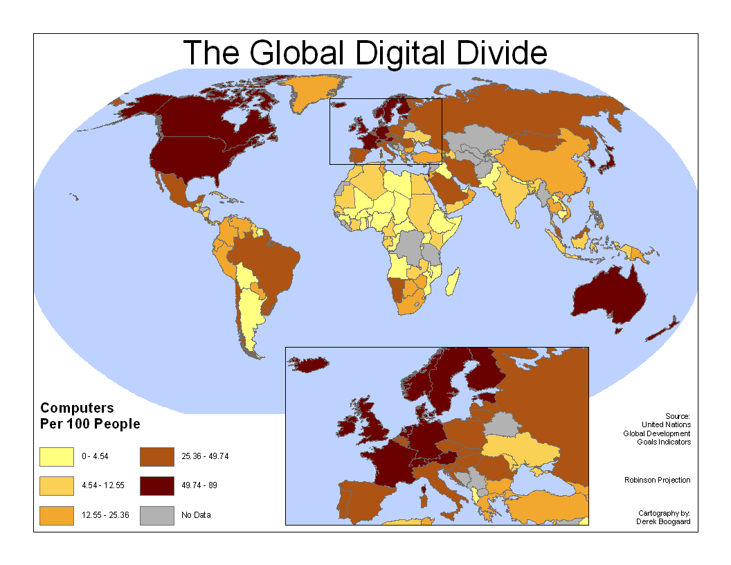 Den digitala klyftan