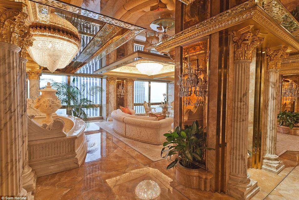 PHOTOS VIDEO Inside Donald Trumps 100 Million New York