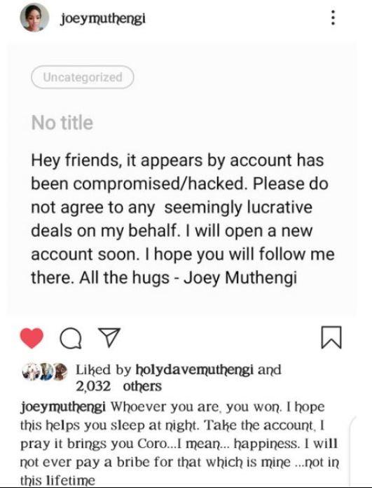 Joey Muthengi