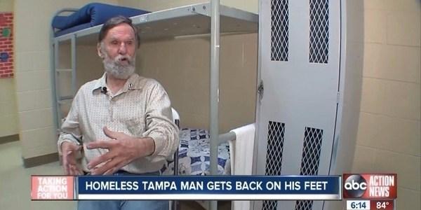 その理由にビックリ!ホームレス男性、僅か数日で大金持ちになり家を買う