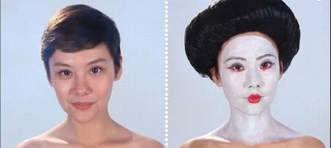 アメリカと日本のメイクはこんなに違う!美少女が実際にやってみた!
