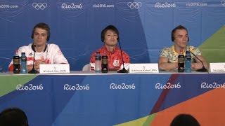 【動画あり】内村選手への記者のいじわるな質問に、ライバルたちが怒りの反論!「航平さんは伝説の人間」