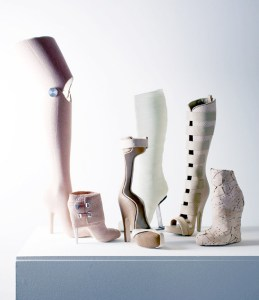gwendolyn huskens collection of medical inspired shoes image © rené van der hulst