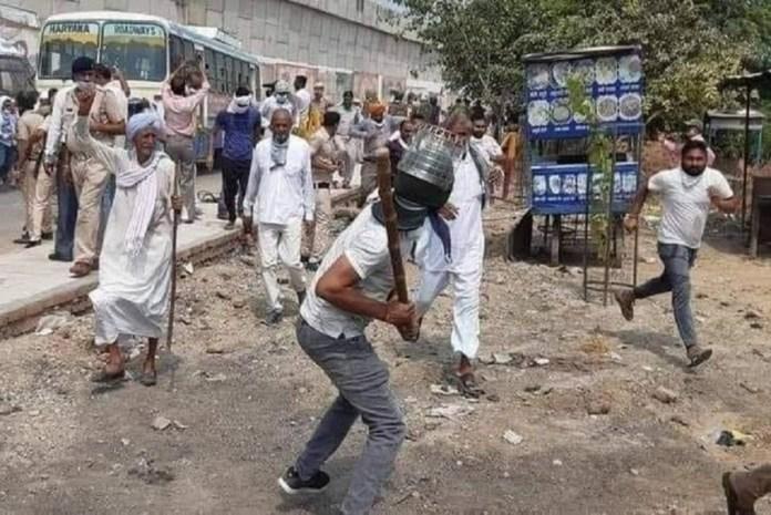 BJP নেতার ওপর হামলার অভিযোগ, ১০০ কৃষকের বিরুদ্ধে দেশদ্রোহের মামলা!