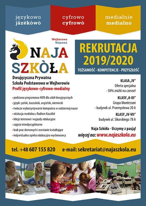 naja-szkola-rekrutacja-2019-plakat