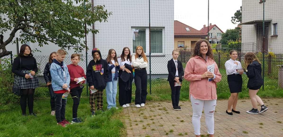 Patrycja Marszewska - wychowawca klasy VIII (2021-22)i koordynator ds. kształçenia w Naji Szkòła
