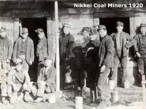 Nikkei Coal Miners 1920