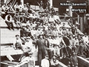 Nikkei Sawmill Workers