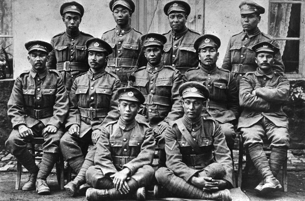 日系カナダ人軍人、第一次世界大戦第10大隊