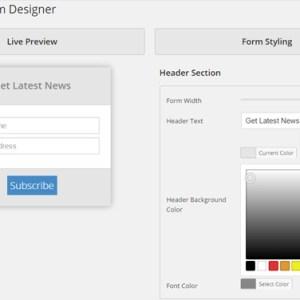 Visual Form Designer (backend)