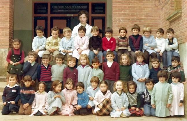 colegio San Fernando 1974