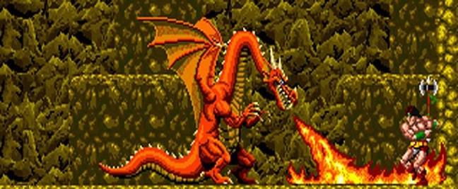 dragon rastan