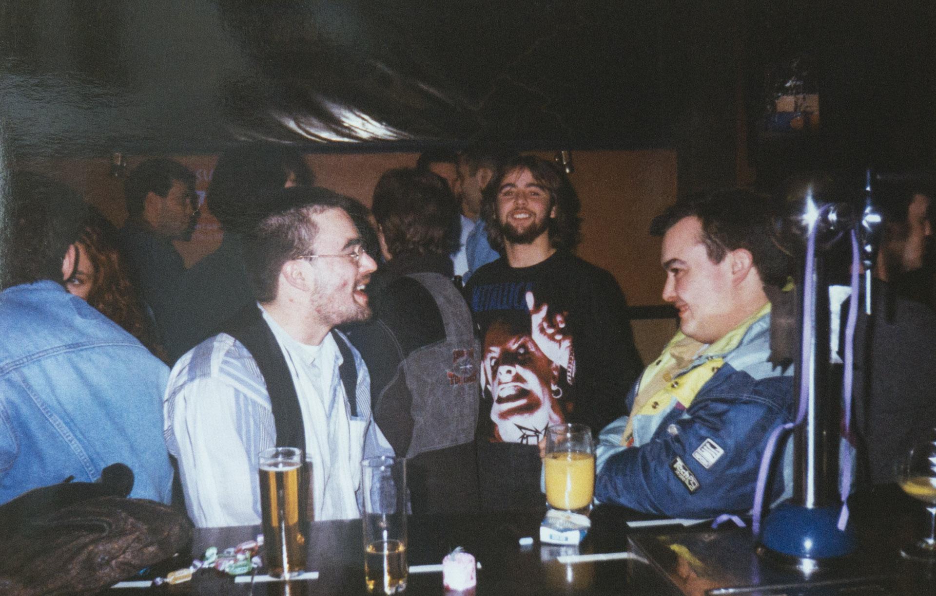 Pedro, Fernando e Iñaki