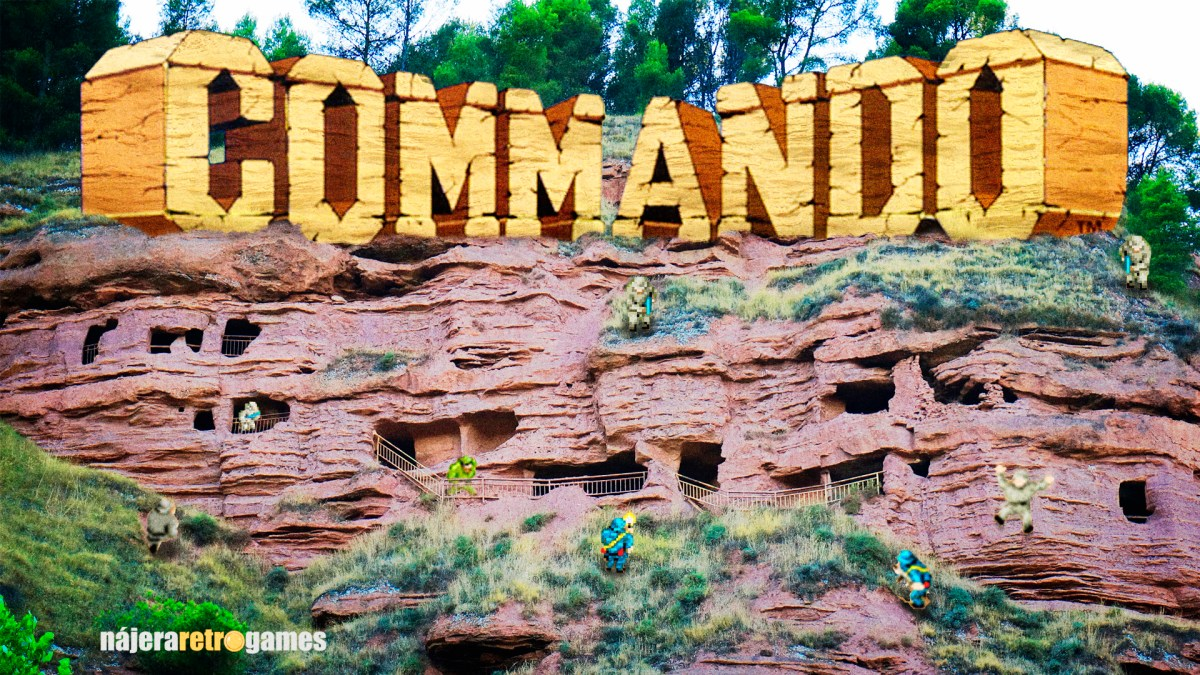 Commando (o la del soldado a tiros y bombas) - Capcom 1985