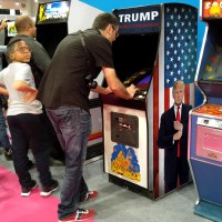 Trump World Conqueror. The arcade Game – Artari 1987