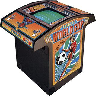 Tehkan World Cup Cabinet