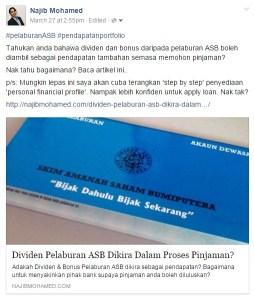 Tips memohon Pinjaman Bank - Hartanah