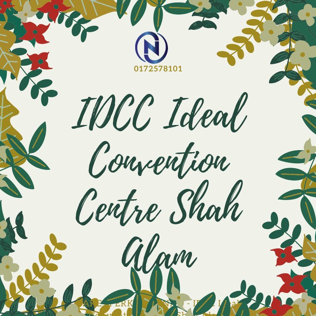 PAKEJ-PERKAHWINAN - IDCC-Ideal-Convention-Centre-Shah-Alam