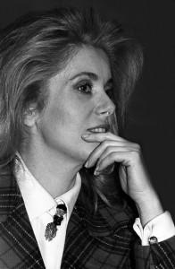 Catherine Deneuve fot. Cz. Czapliński