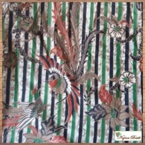 Model baju kerja batik terbaru