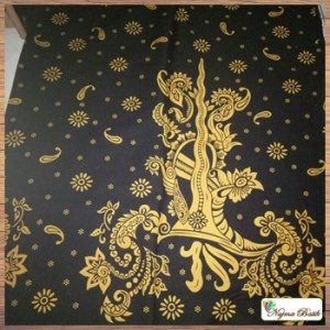 Model blus batik panjang