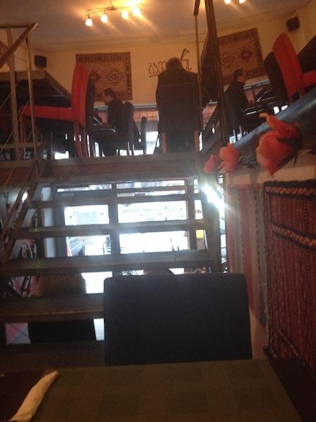 Wnętrze restauracji Gaumarjos