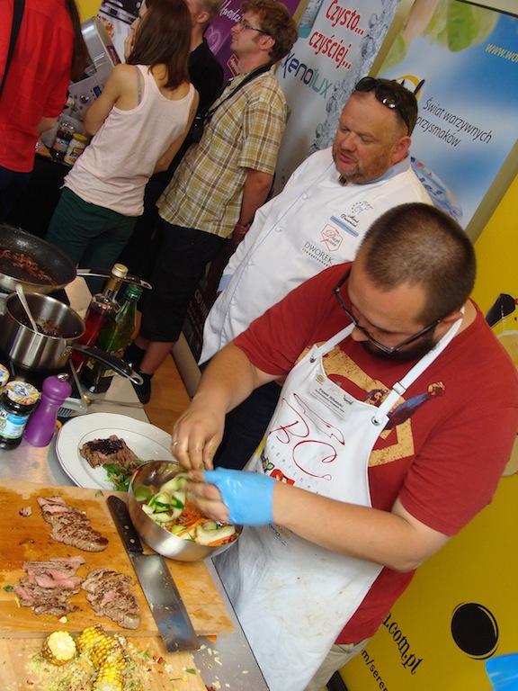 Finał Bloger Chef 2014 - Słoniu winegretuje cukinię i marchewkę