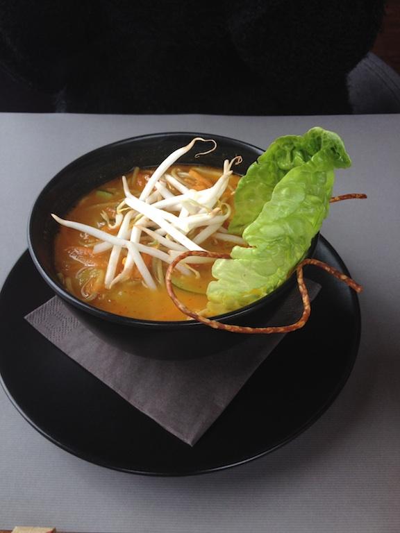 Zupa tajska z krewetkami, Otwarta, Gdańsk