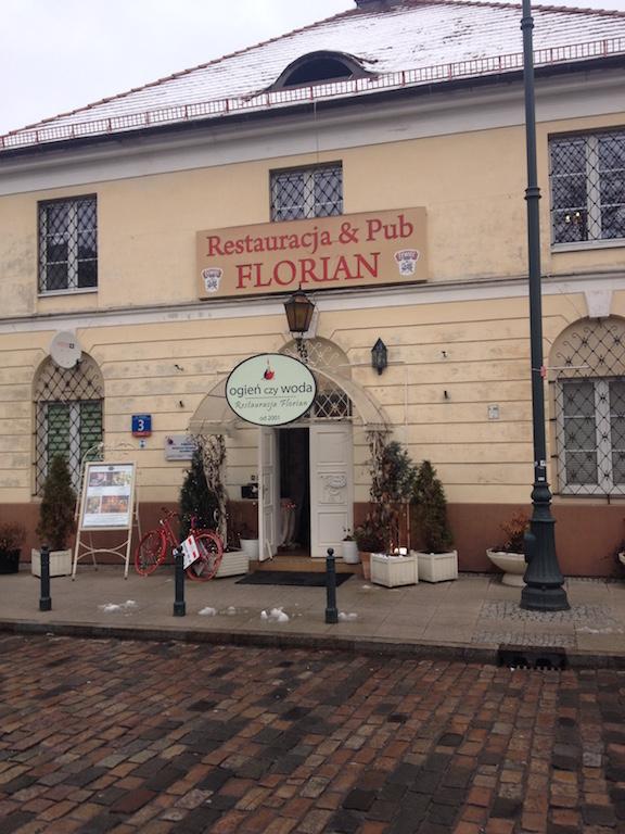 Restauracja Florian, Warszawa, Chłodna 3