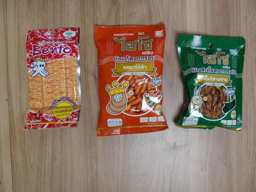Egzotyczne przekąski - robaki i kalmaryq