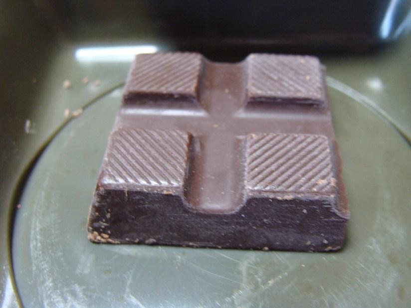 Racja armii słoweńskiej menu C - czekolada