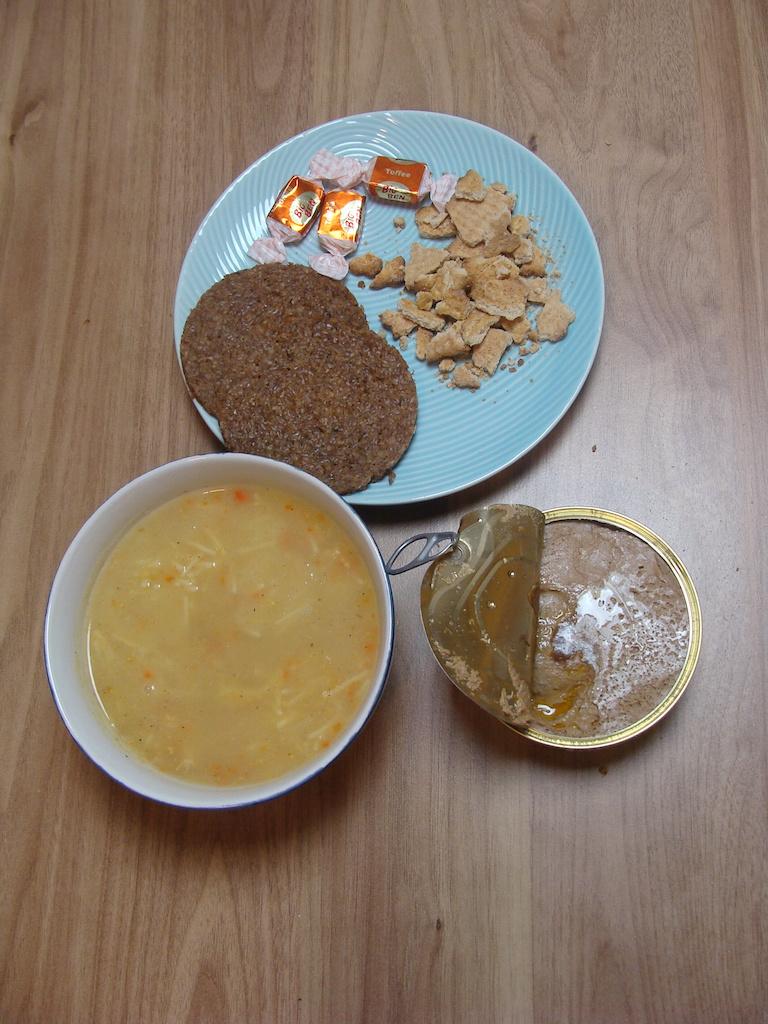 Racja armii estońskiej 24 h menu 5 - kolacja