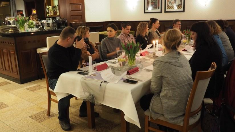Złoty Róg Kostrzyn - kolacja degustacyjna