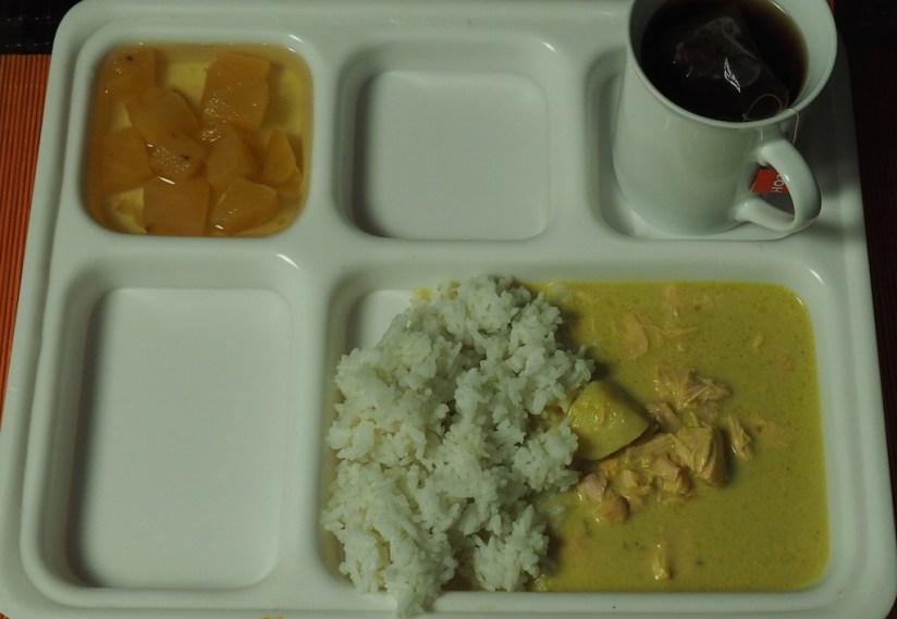 Racja policji malezyjskiej kurczak w żółtym curry