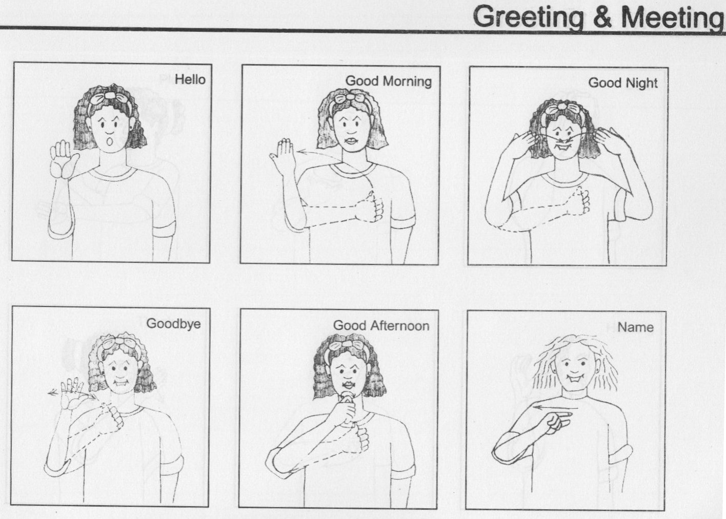 Gallery Of Sign Language