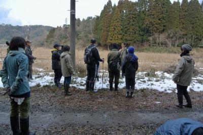 2013年1月自然観察会