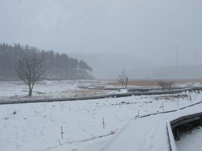 堀切雪景色