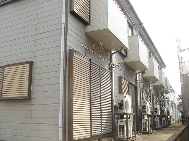 愛甲石田駅徒歩7分ツタヤ前を通って、コンビニによって帰れる立地の賃貸アパート|シャロムⅠ