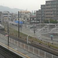 JR曽根駅前ロータリー完成