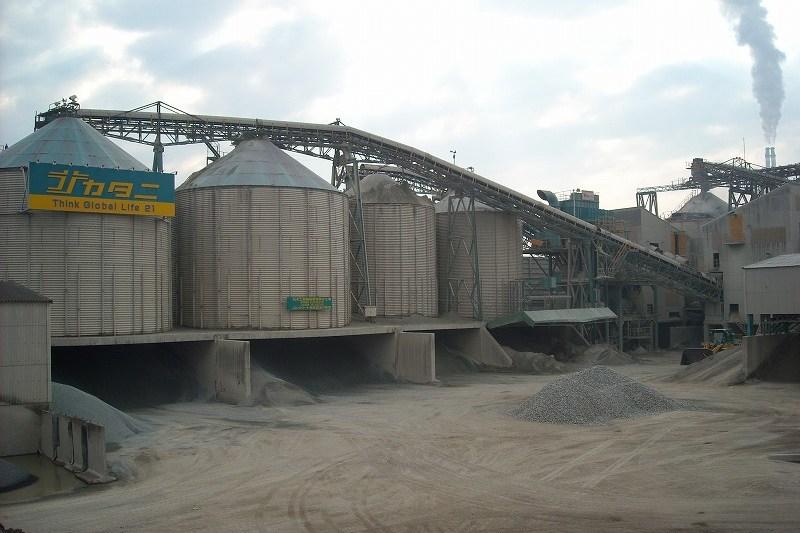 中谷建材株式会社 天川工場 砕石・砕砂 製造プラント
