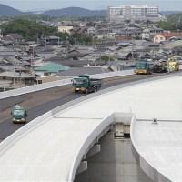 加古川小野線東播磨南北道路 舗装工事開始
