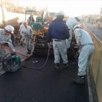 高砂市松陽陸橋歩道舗装工事