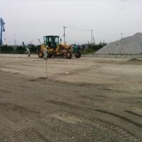 姫路市中島埠頭飾磨舗装工事